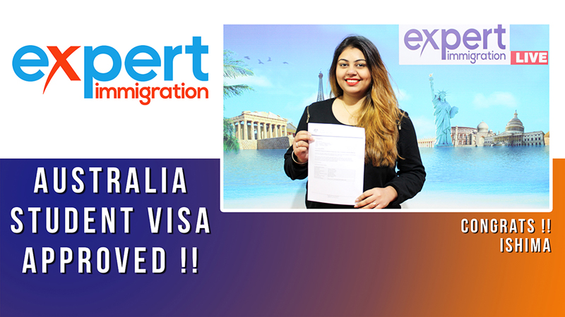 ISHIMA (AUSTRALIA VISA) Thumbnail For Videos